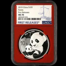 2019年30克熊猫银币