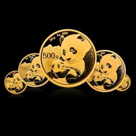 2019年熊猫金币