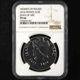 2016年法国圣女贞德银币