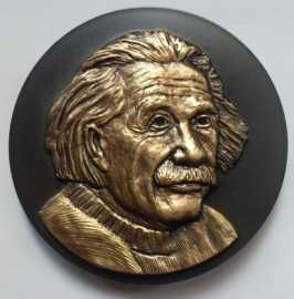 2019年爱因斯坦与霍金纪念铜章