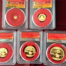 2007年熊猫金币