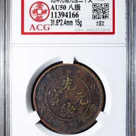 1902年北洋光绪元宝二十文