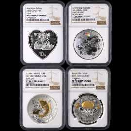 2015年1盎司吉祥文化银币