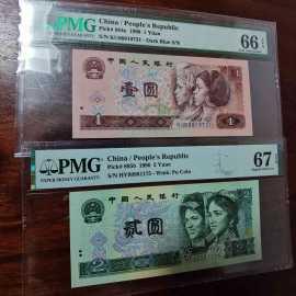 流通纸币若干