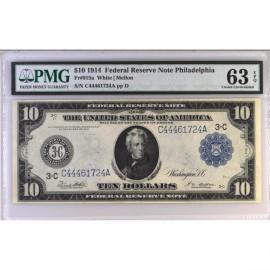 1914年美国10美元